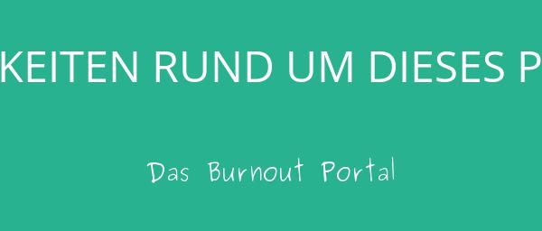 Neuigkeiten Burnout Portal